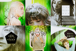 Green Mixed Icons by KalyTheKrazy