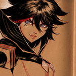 Ryuko - Kill La Kill scribble by Lean13