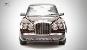 Bentley State Limousine For Her Majesty  2002 by PraguePhotography