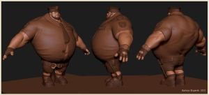 Fat Cop by JoseConseco
