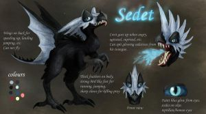 Sedet ref sheet by Pink-Death-Pigeon