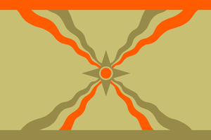 Flag of Kingdom of Assyria by CoralArts
