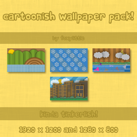 Cartoonish Wallpaper Pack by Foxylittle