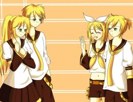 the Kagamines by april4luck