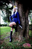 Hetalia - Prussia and Tree by cosplayculture