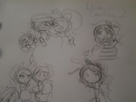 Usavich Inspared Doodles 2 by Music-Lovette123