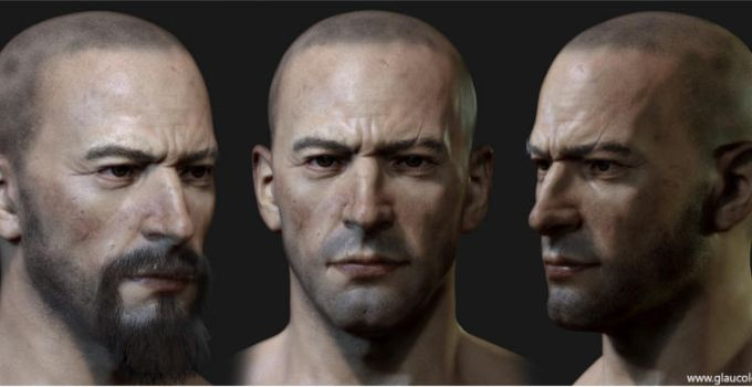 How to Create Realistic Male Model with Zbrush by avcgi360