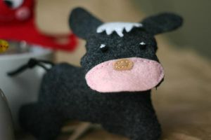 Donkey in felt by noasign