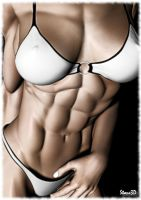 Her Abs... by Stone3D