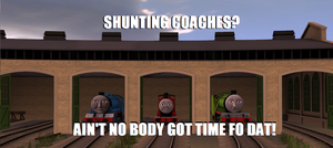 Trouble in the Shed - Meme by BustedBuffer