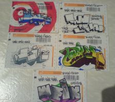 Stickers by weik1