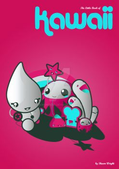 book cover concept. kawaii by kwondo51