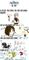 Final Fantasy Meme I by Priscy-Lockheart