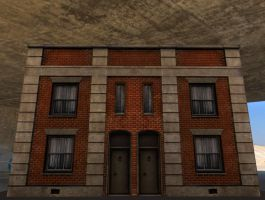 Old building from the fifties by DennisH2010