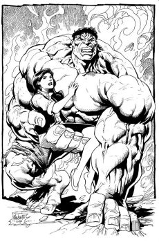 HULK with BETTY by gammaknight