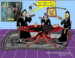 Death Family Thanksgiving by VicDillinger