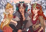 Winter's Crest Royalty by allisonhowle
