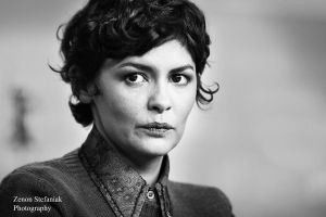 Audrey Tautou by ZenonSt