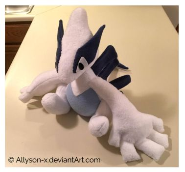 Lugia Plush by Allyson-x