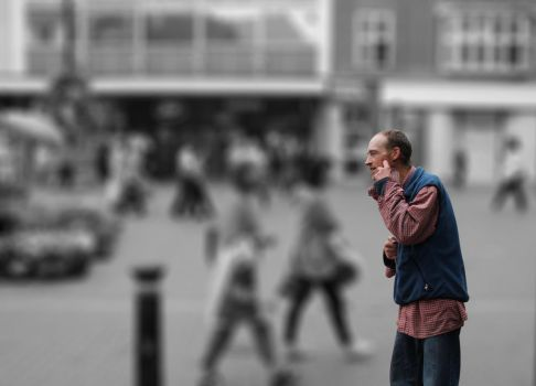 Big Issue! Social Isolation by SinaSadatPhotography