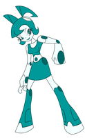 XJ9 Jenny redesign by Keytee-chan