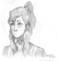 Korra by phantomdrawer