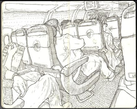 Sketchbook - On the way back home by keiross