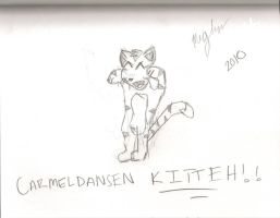 Carmelldansen Kitteh by Clueless825