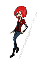 Hah okay I actually like this as an ID... by Art-of-Sorrows