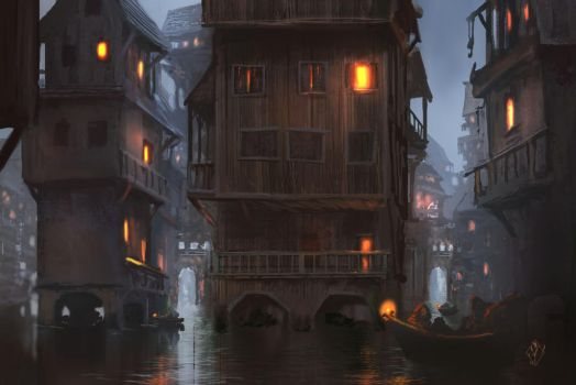 Water City Concept by jjpeabody