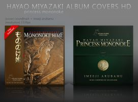 Princess Mononoke Album Cover HD by shinobireverse