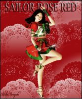 Sailor Rose Red Card by AisikoAwayuki