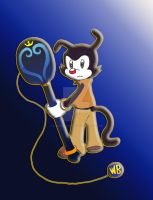 Yakko-Lightening Paddleblade by SonicandShadowfan15