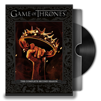 Game of Thrones(TV S) Folder Icon by prestigee