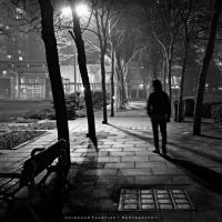 Lonely Tonight II by Val-Faustino