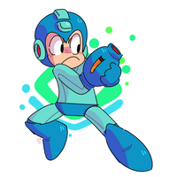 Megaman by Ionic-Isaac