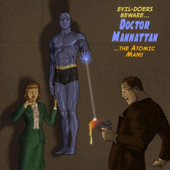 TLIID 242 - Golden Age version of Dr Manhattan by Nick-Perks