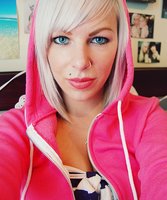 little pink riding hood by lacerate666