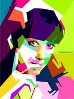 Katty Perry in WPAP by Edho by edhoartwork