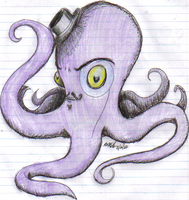 Fancy Octopus by SaraMichellee