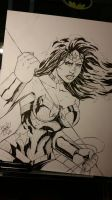 WonderWoman by DamageArts