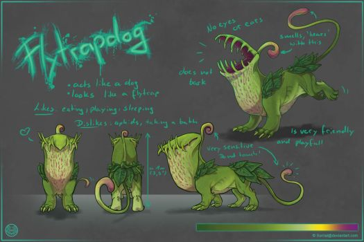 Flytrapdog by Surrial