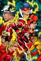 FLASH FAMILY by flagitious