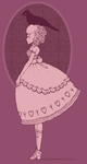 a lolita and her crow by GRAMMAR