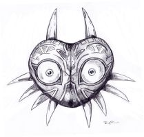 majora's mask by TripsOcho