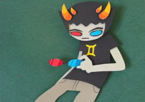 Sollux Captor Papercraft by koreandrawer