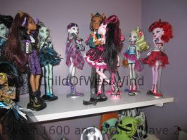 Monster High Collection Update 2 by Childofwestwind