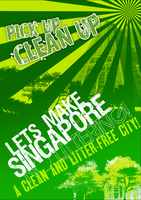 Clean and Litter Free Poster by ahmad0410