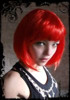 Red wig by Esarina
