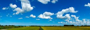 Clouds and Fields by Estranged89